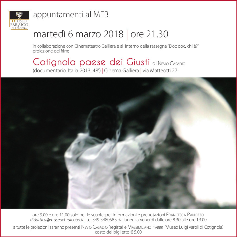 invito film Cotignola 2018