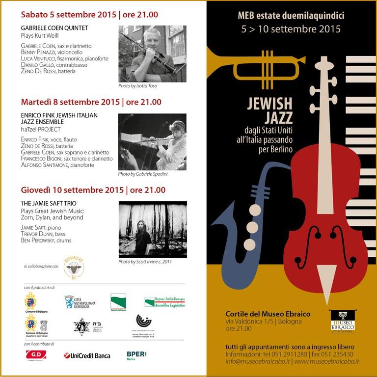 Jewish Jazz new 2015