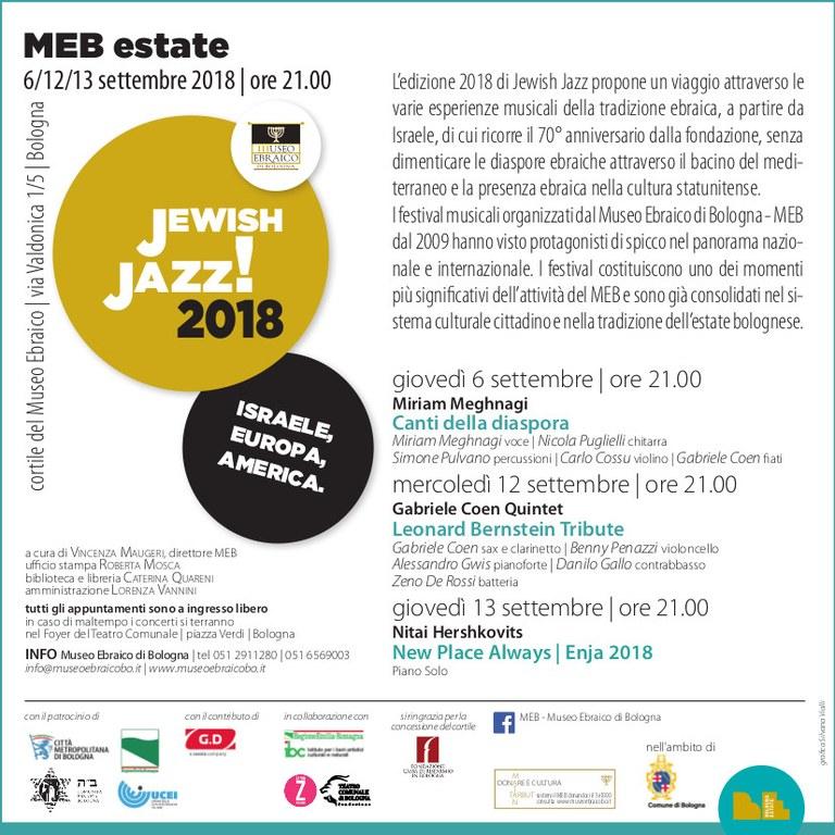 Jewish Jazz 2018