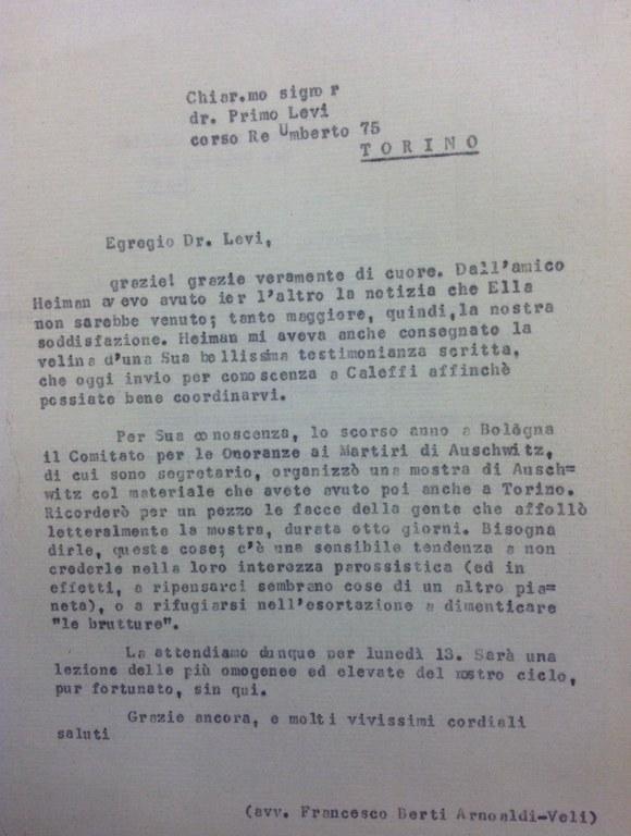 Lettera Berti a Primo Levi ringrazia per partecipazione.jpg