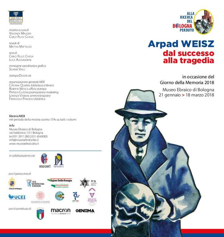 Arpad Weisz depli1 mostra 2018