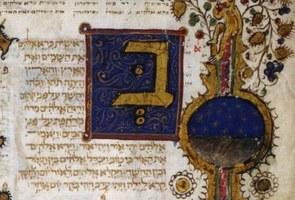 La Bibbia ebraica miniata di Imola