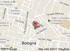 Google map Museo Ebraico di Bologna